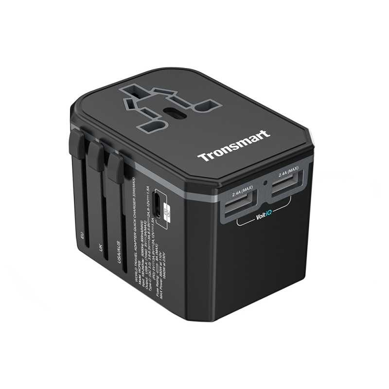 Tronsmart Quick Charge Universal Travel Adapter