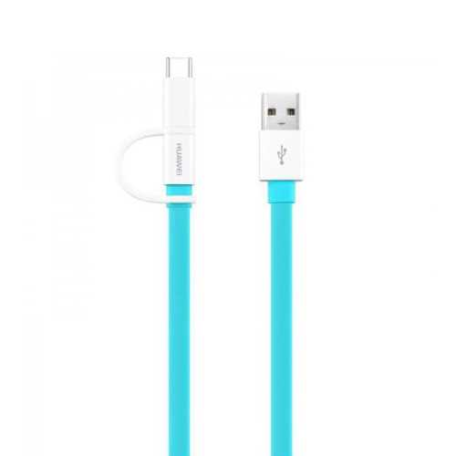 HUAWEI Two-in-One Data Cable Type-C + Micro USB