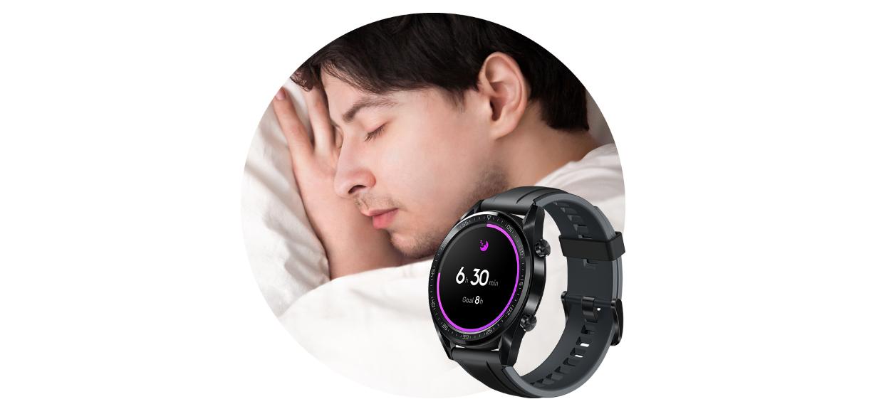 إحصائيات النوم الذكية: أنتجت دراسة مشتركة بين مركز CDB كلية الطب لجامعة هارفرد برنامج مراقبة نوم رائع لكل دورة نوم. تحدد ميزة HUAWEI TruSleep™ 2.0 المشاكل الشائعة المتعلقة بالنوم وتوفر أكثر من 200 اقتراح احتمالي لمساعدتك في النوم بشكل أفضل.
