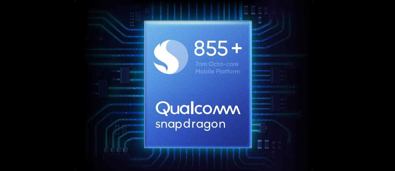 تم التجهيز بشريحة +Qualcomm Snapdragon 855، ويستخدم التقنية الأكثر تقدماً في الصناعة، مما يوفر أداءً فائقاً للغاية ويتيح لك تشغيل الألعاب والتطبيقات الثقيلة بسلاسة.