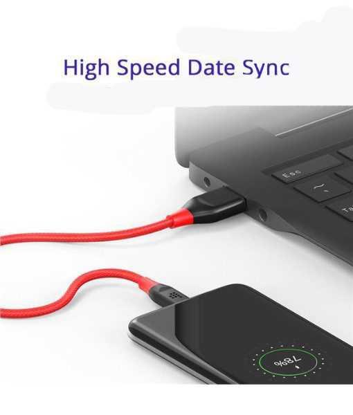 مزامنة USB-C: نقل البيانات (حتى 480 ميجابت في الثانية) بين أجهزة USB-C.