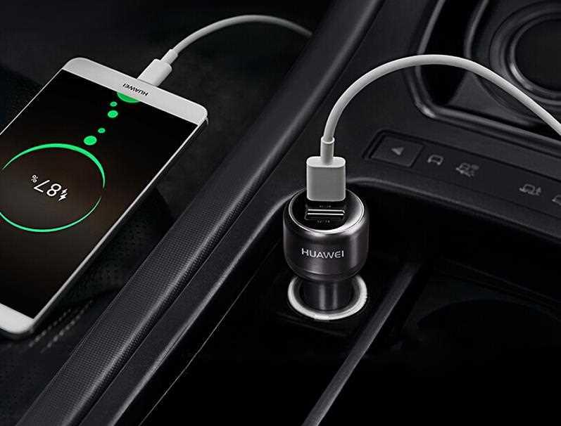 شاحن سيارة مزود بمنفذي USB لشحن أجهزتك المتعددة, مع حماية مضمونة 100%.