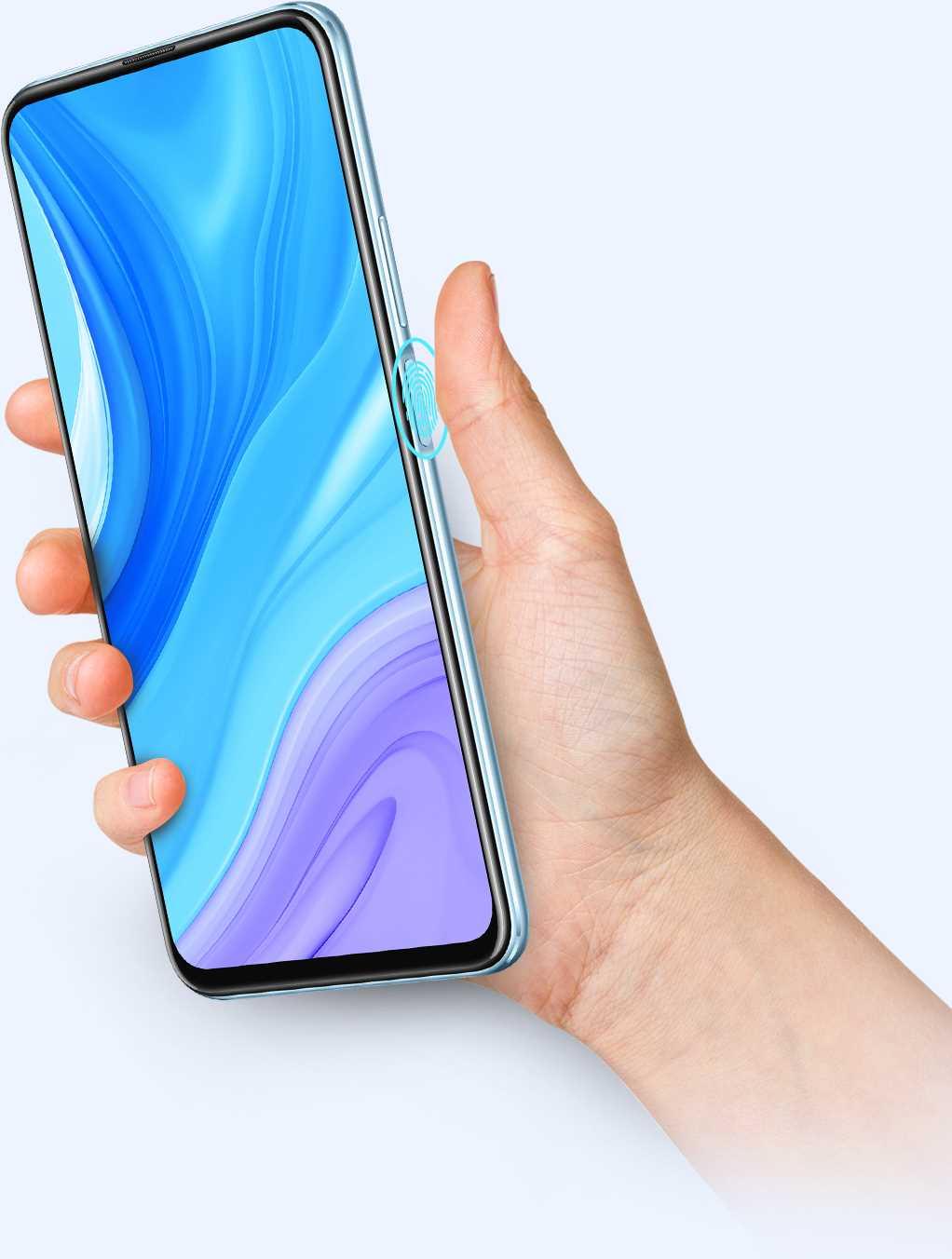 بصمة إصبع مثبتة على الجانب الآن يمكن لفتح قفل هاتفك في غضون 0.3 أن يصبح حقيقة مع قارئ بصمة الإصبع المتطور المثبت على الجانب. بسبب التكامل لزر الطاقة وقارئ بصمات الأصابع، لا يستغرق الأمر سوى ثانية واحدة لإيقاظ المساعد الصوتي بالضغط لفترة طويلة على الزر و3 ثوانٍ لإيقاف تشغيل جهازك..
